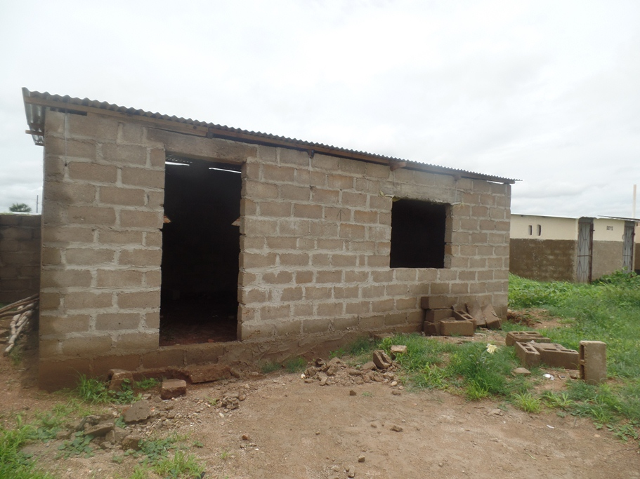 Muumba Pre school under construction