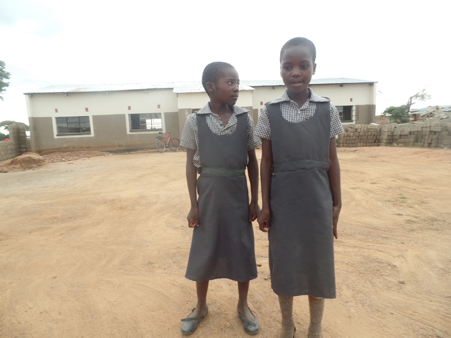 Muumba Sch pupils Uniforms sewed by Prisca Hatembo