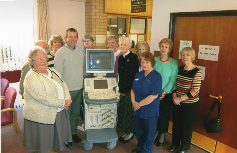 Scanner donated to HHI by Deeside League of Friends
